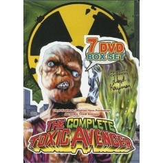 The Complete Toxic Avenger (7 Disc)