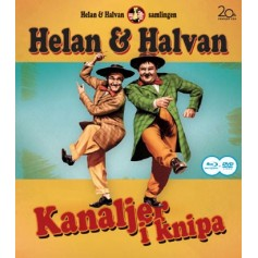 Helan & Halvan - Kanaljer I Knipa (Blu-ray + DVD)
