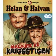 Helan & Halvan - Malajer På Krigsstigen (Blu-ray + DVD)