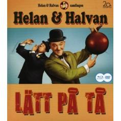 Helan & Halvan - Lätt På Tå (Blu-ray + DVD)