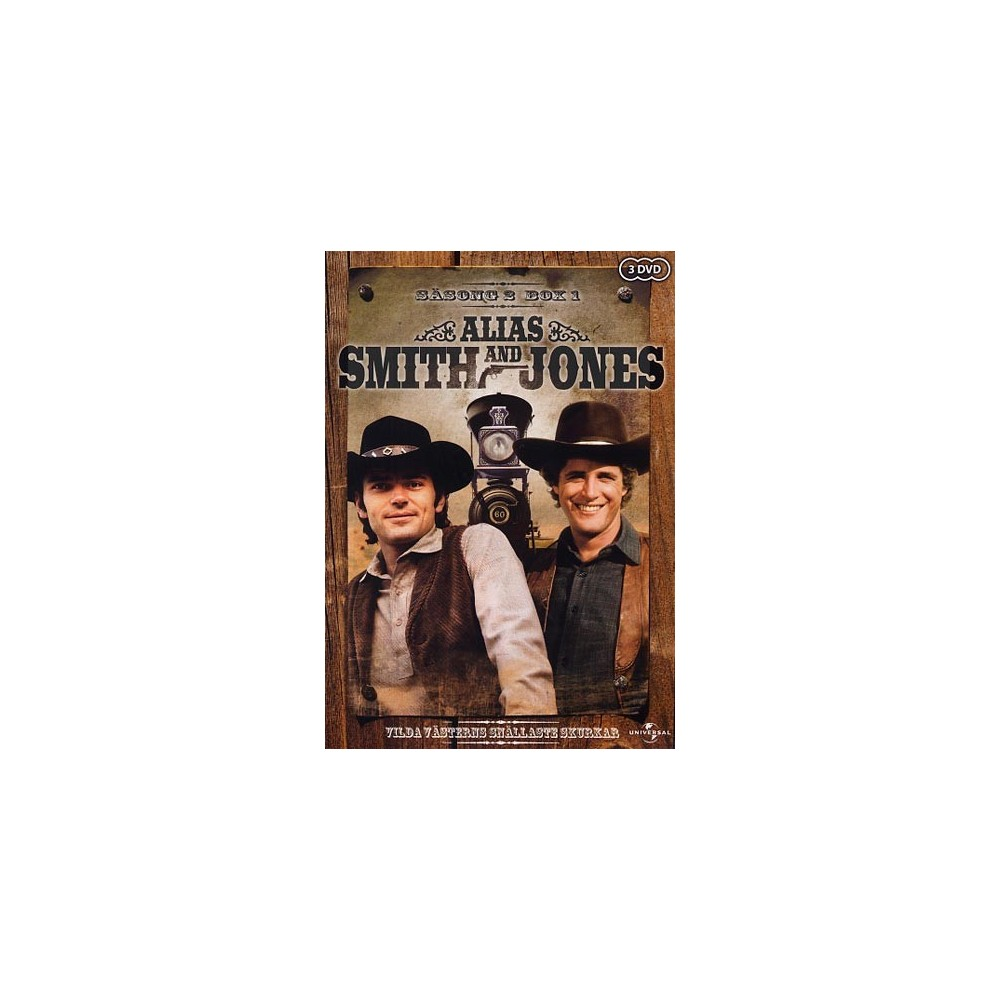 Alias Smith And Jones Sasong 2 Box 1