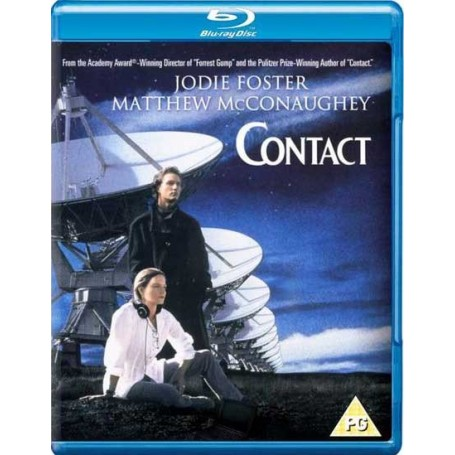 Contact (Blu-ray) (Import-svenskt text)
