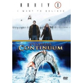 Arkiv X: I Want to Believe / Stargate: Continuum (2-Disc)