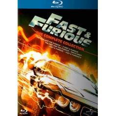 Fast & Furious 1-5 - Complete Collection (5-disc) (Blu-ray)