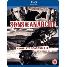 Sons of Anarchy: Complete Seasons 1-3 (Blu-ray)(Import)