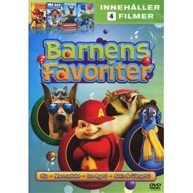 Barnens Favoriter (4-disc Box)