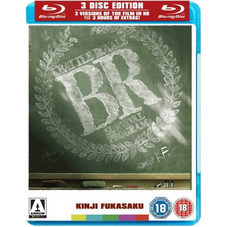 Battle Royale (Blu-ray) (3-disc) (Import)