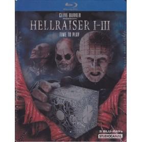 Hellraiser 1-3 (Steelbook) (Blu-ray) (Import)