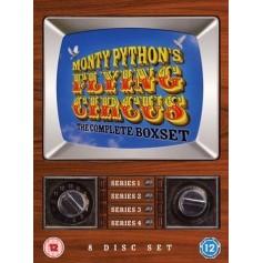Monty Pythons Flygande Cirkus - Complete (8-disc) (Import Sv.Text)