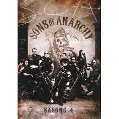 Sons of Anarchy - Säsong 4 (4-disc)