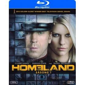Homeland - Säsong 1 (3-disc Blu-ray)