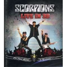 Scorpions: Get Your Sting And Black Out - Live In 3D (Real 3D + Blu-ray)
