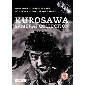 Akira Kurosawa - The Samurai Collection (5 filmer) (Import)