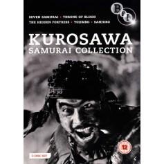 Akira Kurosawa - The Samurai Collection (5 filmer) (Import)