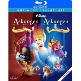 Askungen 2+3 (Blu-ray)