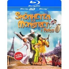 Skönheten och monstret i Paris (3D Blu-ray)