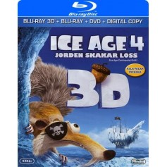 Ice Age 4: Jorden skakar loss (3D Blu-ray + DVD)