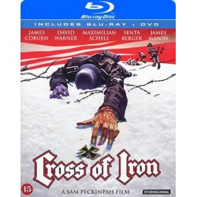 Cross of iron - Järnkorset (Blu-ray + DVD)