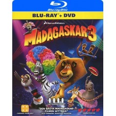 Madagaskar 3 (Real 3D + Blu-ray + DVD)