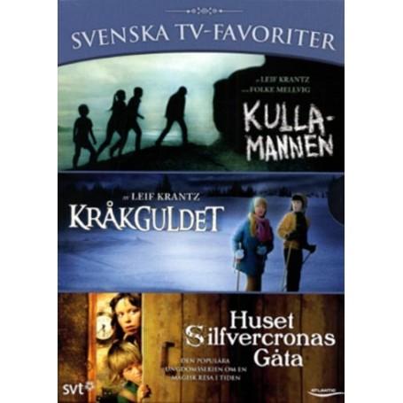 Svenska TV-favoriter (3-disc)
