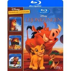 Lejonkungen 1-3 (Blu-ray)