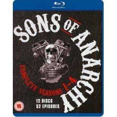 Sons of Anarchy - Seasons 1-4 (Blu-ray) (Import)
