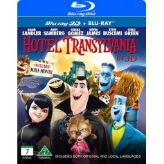 Hotell Transylvanien (Real 3D + Blu-ray)
