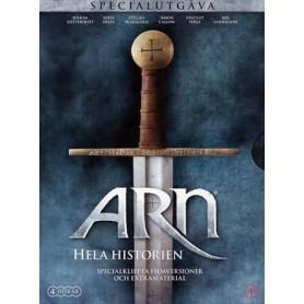 Arn - Hela Historien Specialutgåva (4-disc)