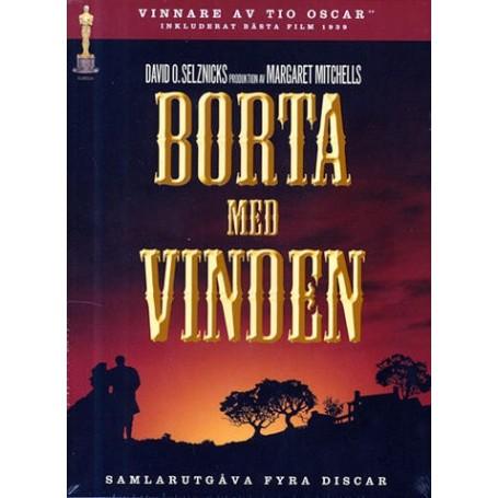 Borta med vinden - Collectors edition (4-disc)