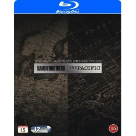 Band of Brothers + The Pacific (Blu-ray)
