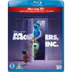 Monsters, Inc. (Blu-ray 3D) (Import)