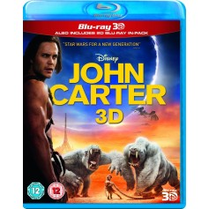 John Carter (2012) (Real 3D + Blu-ray) (Import sv.text)