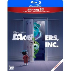 Monsters, Inc. (Real 3D + Blu-ray)