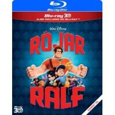 Röjar-Ralf (Real 3D + Blu-ray)