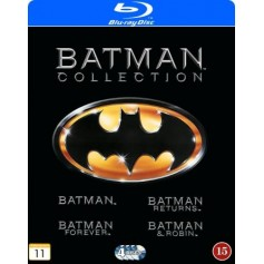 Batman Collection 1989-1997 (4-disc) (Blu-ray)