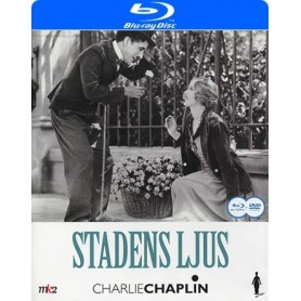 Charlie Chaplin - Stadens ljus (Blu-ray + DVD)