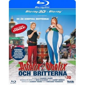 Asterix & Obelix Och Britterna (Real 3D + Blu-ray)