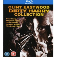 Dirty Harry: Ultimate collection (Blu-ray) (Import Sv.Text)