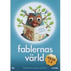 Fablernas Värld - Volym 1-4 Box (4-disc)