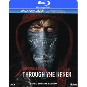 Metallica Through the Never (Real 3D + Blu-ray)