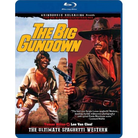 The Big Gundown (Blu-ray) (4-disc) (Import)