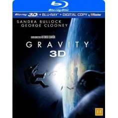 Gravity (Real 3D + Blu-ray)