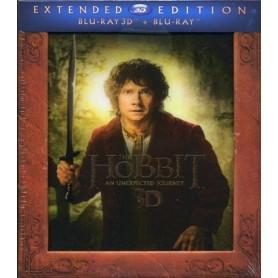 Hobbit - En oväntad resa - Extended Edition (Blu-ray 3D) (Import sv.text)