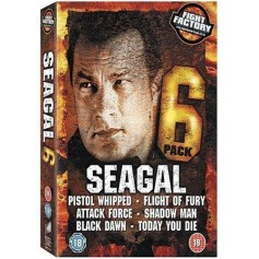 Seagal Six Pack Collection (DVD, 2008, 6-Disc Set, Box Set) (Import)