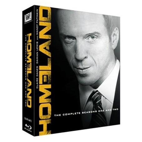 Homeland - Säsong 1 & 2 Box (Blu-ray) (6-disc)
