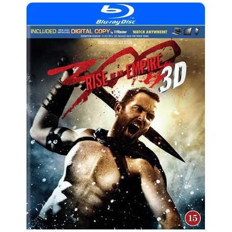 300 - Rise of An Empire (Real 3D + Blu-ray)