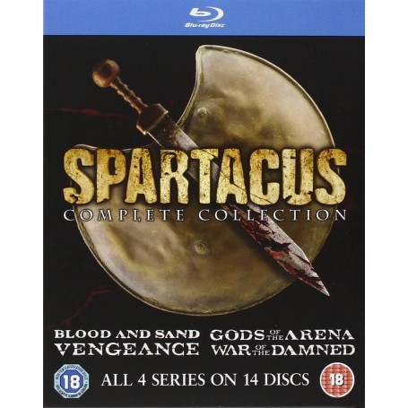 Spartacus: Complete (Uncut) (Blu-ray) (14-disc) (Import)