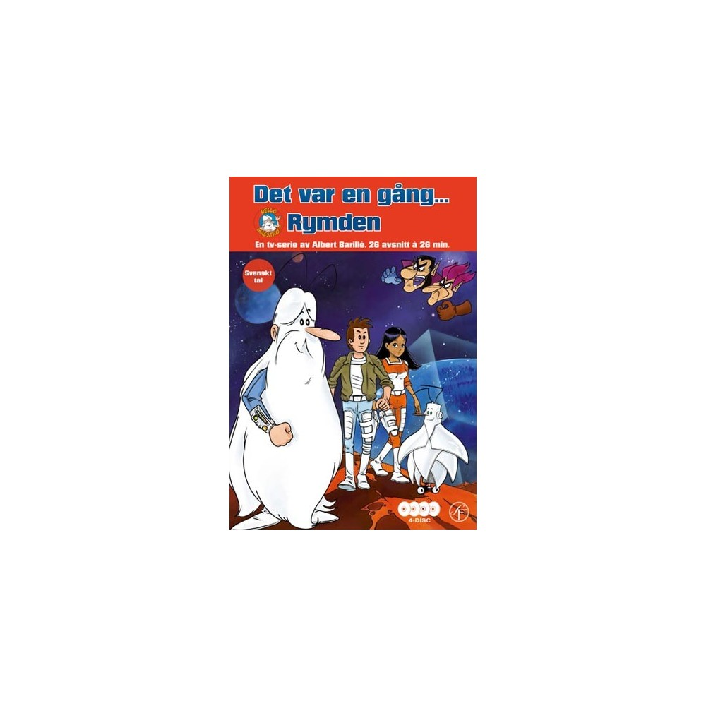 Det Var En Gång Rymden 4 Disc Dvd Shoppen