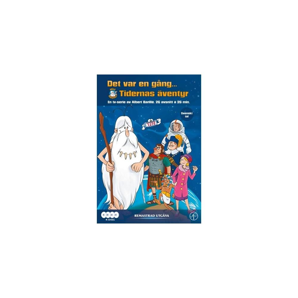 Det var en gång... Tidernas äventyr (4-disc) - DVD Shoppen 9b28831484ebb