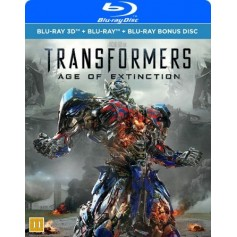 Transformers - Age Of Extinction (3-disc) (Blu-ray + Real 3D)
